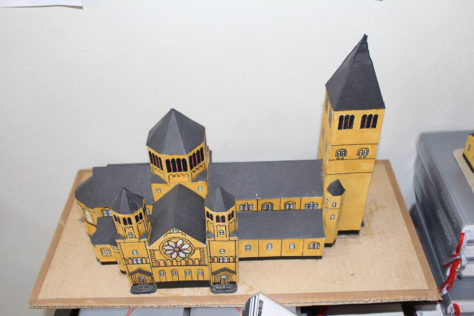 Wir Frankenberger - Kirchenmodell2