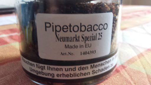 """Pfeifenstudio Jurewicz - Tabak Jurewicz: Pipetobacco """"Neumarkt Spezial 25"""""""