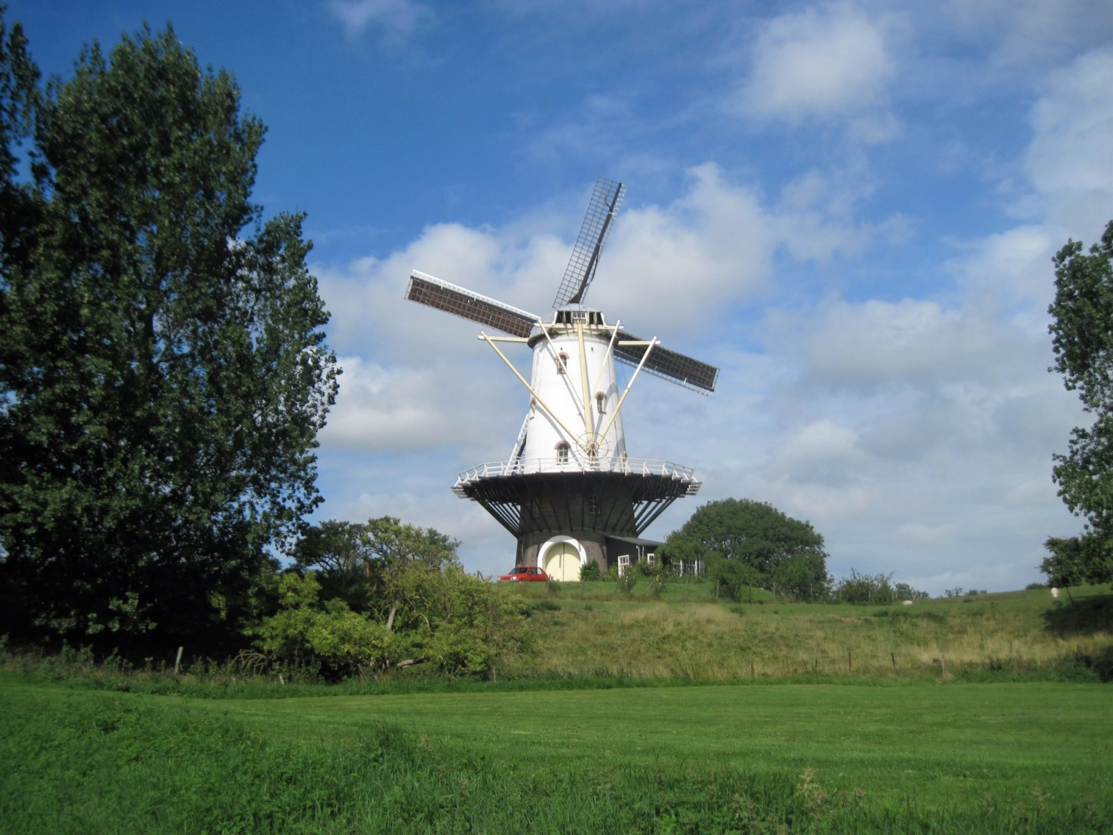 Windmühle in Veere.