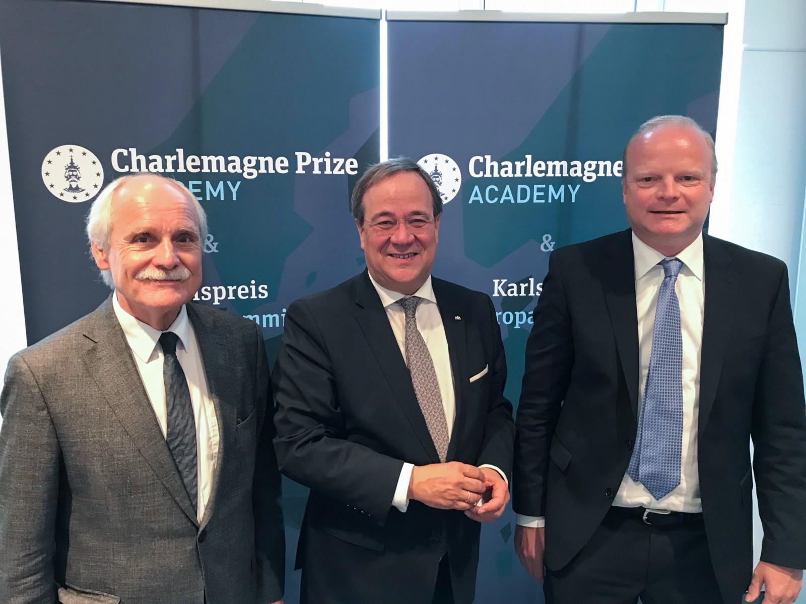 Grundung Der Charlemagne Prize Academy Und Einladung Zum Karlspreis Europa Summit